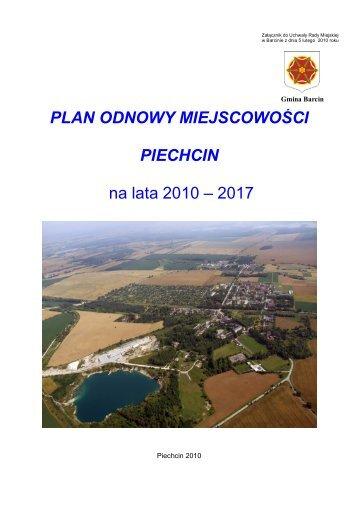 Załącznik do uchwały Nr XLI/376/2010 Rady Miejskiej w Barcinie z ...