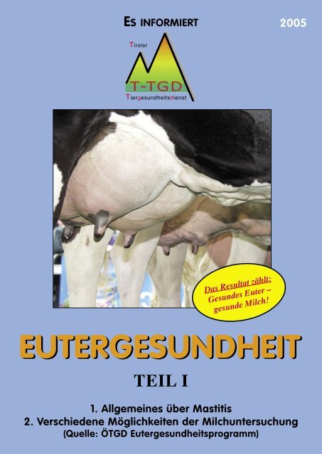 Broschüre - Braunvieh Tirol