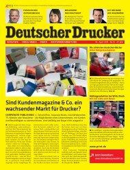 DD_2011_13: TITEL - WIRTZ – Druck . Kommunikation . Mailings