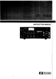 Icom IC-740 Instruction Manual - Hampedia.net
