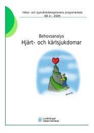 Programarbete Hjärt- och kärlsjukdomar - Landstinget Västernorrland
