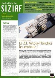 Télécharger la Lettre du Parc n° 21 - Parc des industries Artois ...