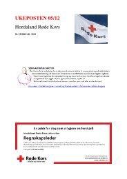 UKEPOSTEN 05/12 Hordaland Røde Kors