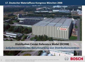Vortrag in Zusammenarbeit mit - Warehouse Excellence