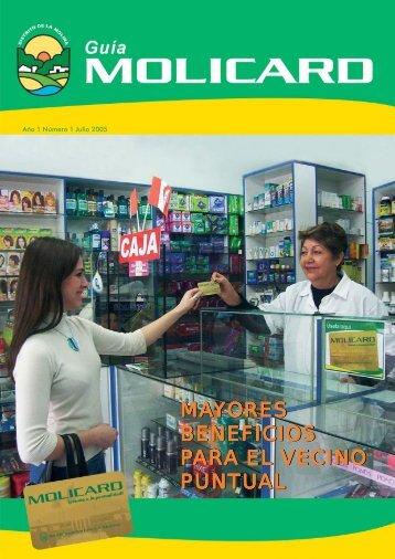 GUIA MOLICAR EDICION 1 JULIO 2005 - Municipalidad de La Molina