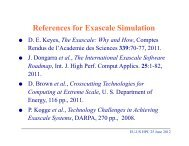 The Exascale - How and Why.pdf - Prace Training Portal