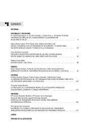 REVISTA n 92 - Asociación Española de Neuropsiquiatría