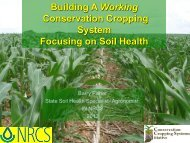 Strategies for Cover Crop Selection - Indiana CCA Program