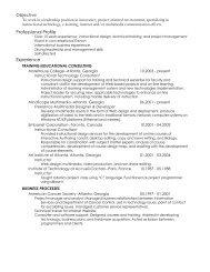 View Resume - SALT
