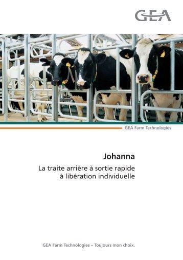 Johanna - GEA Farm Technologies