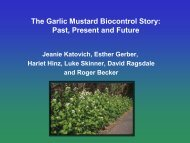 The Garlic Mustard Biocontrol Story: Past, Present and Future