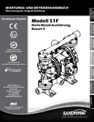 Modell S1F Nicht-Metall-Ausführung, Bauart 3
