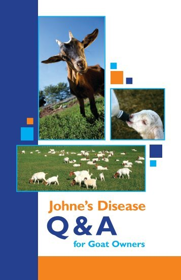 Johne's Goat and Sheep Booklet - Delaware Department of Agriculture