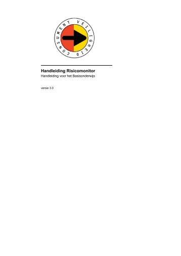 100507 Handleiding risicomonitor PO - Risico-monitor.nl