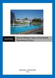 Solar Energy Use in Outdoor Swimming Pools - SOLPOOL