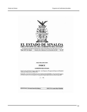 Prospecto de Colocación de Deuda Pública (segunda parte)