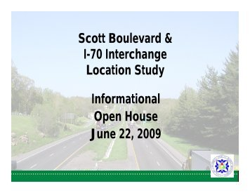 I-70 and Scott Blvd. Interchange Location Study - City of Columbia ...