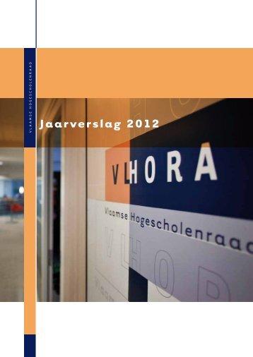 Jaarverslag 2012 - Vlhora