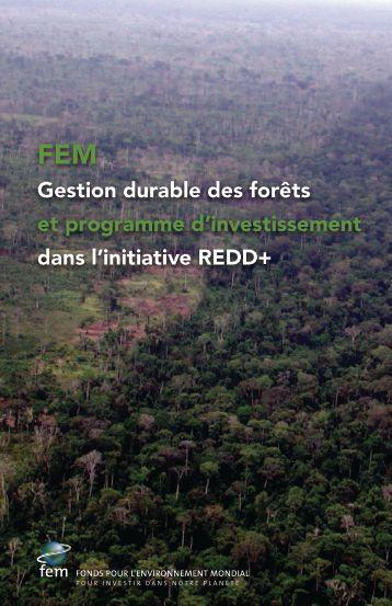 Gestion durable des forêts et programme d ... - UN CC:Learn