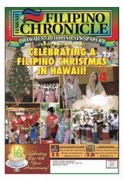 12/06/2008 - Hawaii-Filipino Chronicle