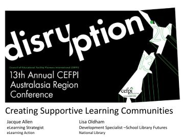 Creating Supportive Learning Communities