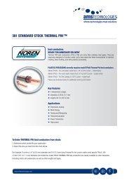 381 STANDARD STOCK THERMAL PIN ™ - AMS Technologies