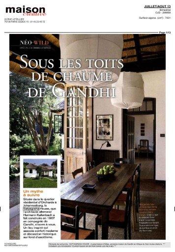 JUILLET/AOUT 13 - Voyageurs du Monde