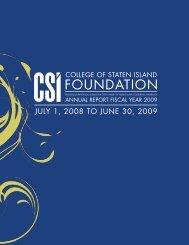 FOUNDATION - CSI Today