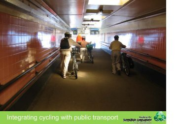Integrating cycling with public transport - World Carfree Network