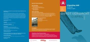 Erfgoeddag 2008 - Erfgoedcel Antwerpen