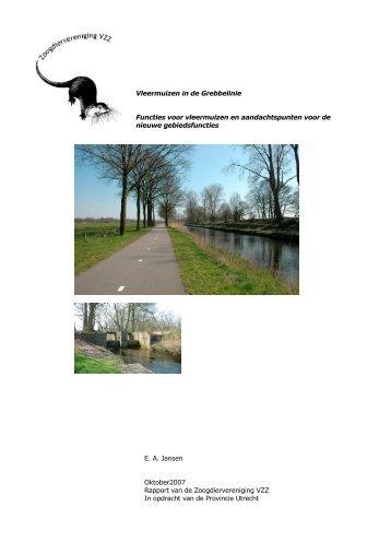 2007.13 Vleerm. in de Grebbelinie 1. Rapport_0.pdf - Zoogdierwinkel