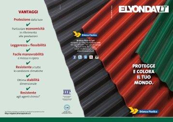 Scarica il Leaflet del nuovo prodotto Elyonda LT - Guida Edilizia