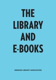 SWEDISH LIBRARY ASSOCIATION - Svensk Biblioteksförening