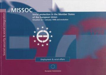 MISSOC Archives 1998