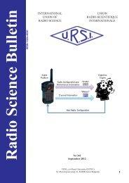 Radio Science Bulletin 342 - September 2012 - URSI