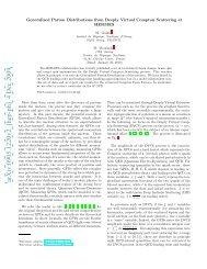 arXiv:0905.1220v2 [hep-ph] 4 Dec 2009 - Nuclear Physics