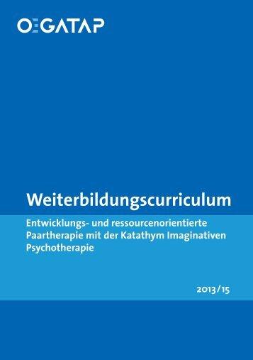 Weiterbildungscurriculum - ÖGATAP