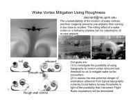 Wake Vortex Mitigation Using Roughness