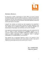 Consultez notre catalogue 2013 - La Province de Hainaut