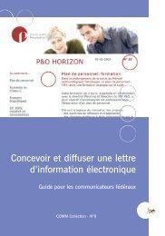Brochure COMM 9 F - Fedweb - Belgium