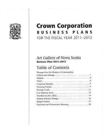 Business plan art gallery