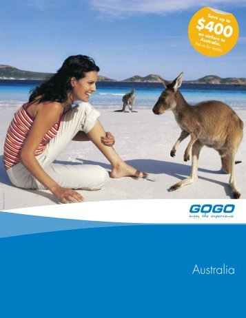 Australia - GOGO Worldwide Vacations