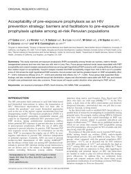 Acceptability of pre-exposure prophylaxis (PrEP) - The International ...