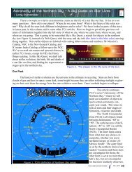 The article, complete - Classroom Astronomer Magazine