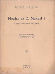Moedas de D. Manuel I