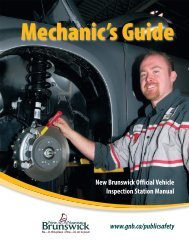 New Brunswick Official Vehicle Inspection Station Manual www.gnb ...