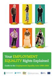 Your emploYment - Equality Authority