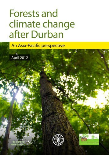 Forests and climate change after Durban - RECOFTC