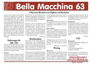 FAQ zum Wechsel von Diplom auf Bachelor - Fachschaft ...