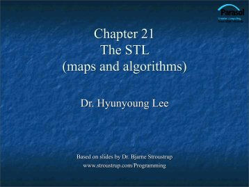 maps and algorithms - TAMU Computer Science Faculty Pages